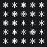 雪の結晶を超簡単に作成